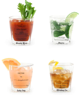 Bartending Glass Set - Amazon, $20